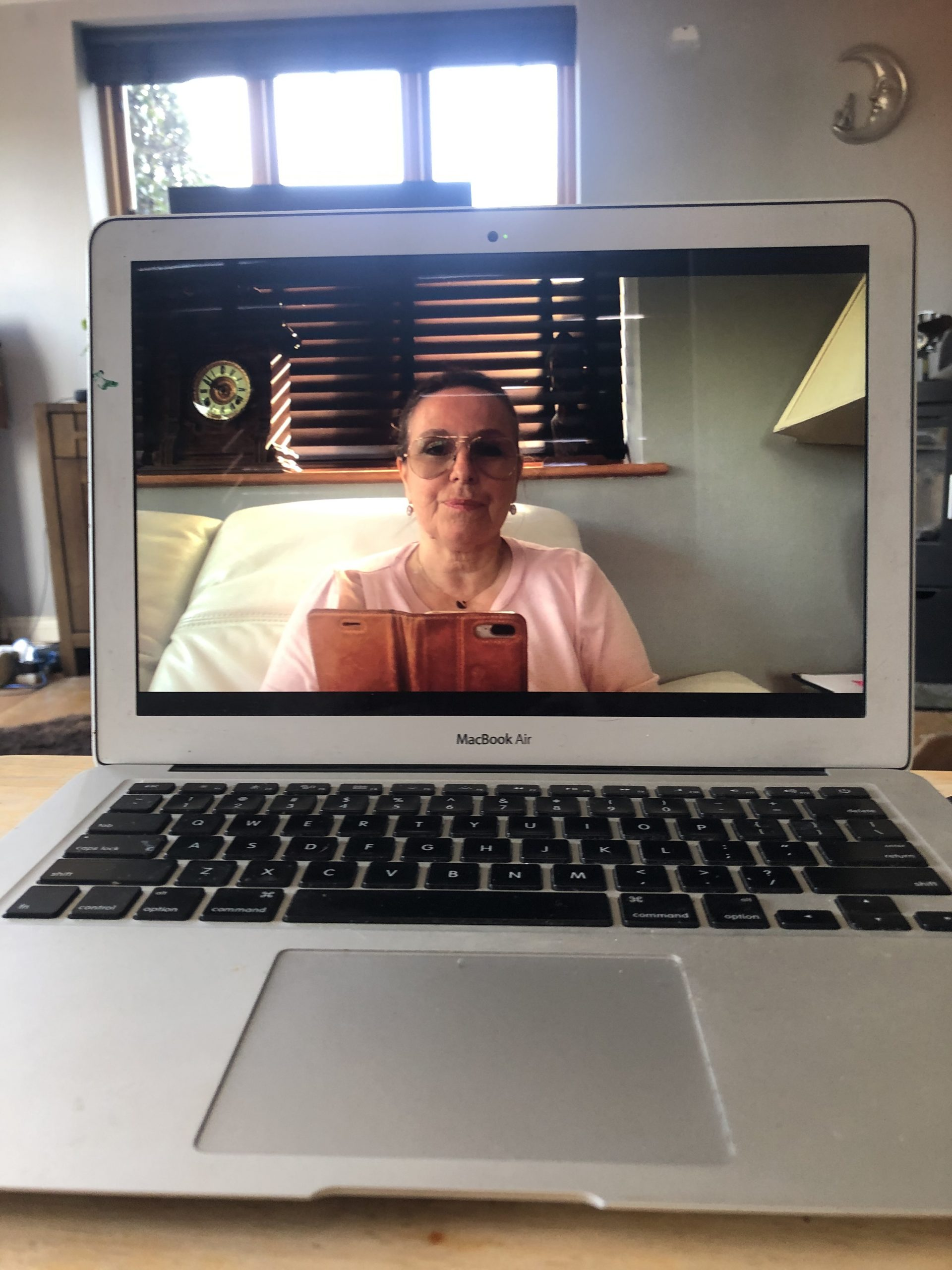 Online counselling with video conferencing